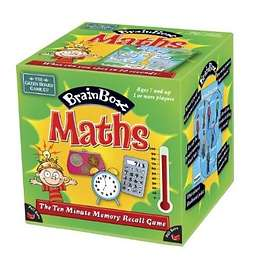 Green Board Games Brainbox: Maths