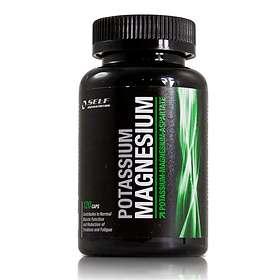 Self Omninutrition Magnesium-Kalium 120 Kapslar
