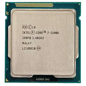 Intel Core i7 2600K 3,4GHz Socket 1155 Tray