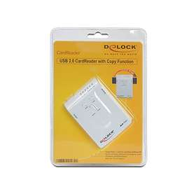 DeLock USB 2.0 Card Reader with Copy Function (91482)