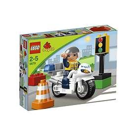 LEGO Duplo 5679 Polismotorcykel