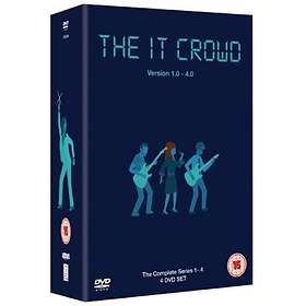 The IT Crowd - Complete Series 1 - 4 (UK)