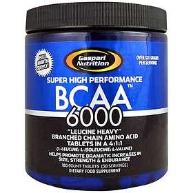 Gaspari Nutrition BCAA 6000 180 Kapslar