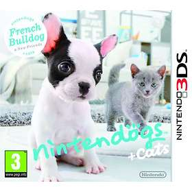 Nintendogs + Cats: French Bulldog & New Friends (3DS)