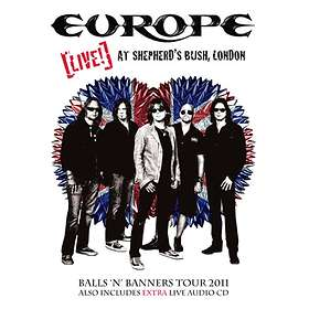 Europe - Live at Shepherd's Bush, London (DVD+CD)