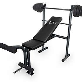 Titan Fitness Bench incl. 50kg