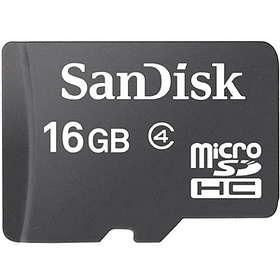 SanDisk microSDHC Class 4 16GB