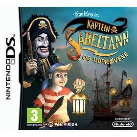 Kaptein Sabeltann og Ildprøvene (DS)