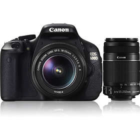 Canon EOS 600D + 18-55/3 5-5 6 IS + 55-250/4 0-5 6 IS Best