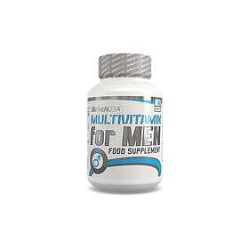 BioTech USA Multivitamin For Men 60 Tabletter