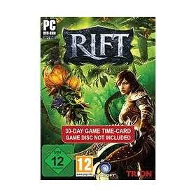 Rift - 30 Days Time Card