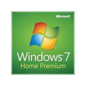 Microsoft Windows 7 Home Premium SP1 Eng (64-bit OEM)