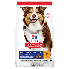 Hills Canine Science Plan Mature Adult 7+ Medium Chicken 12kg