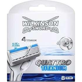 Wilkinson Sword Quattro Titanium 8-pack