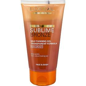 L'Oreal Sublime Bronze Self tanning Gel Transparent Formula 150ml