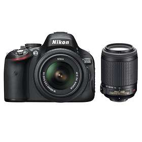 Nikon D5100 + 18-55/3,5-5,6 VR + 55-200/4,0-5,6 VR