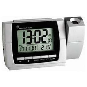 TFA Radio Controlled Projection Alarm with Thermometer 60.5002