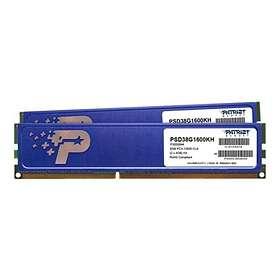 Patriot Signature DDR3 1600MHz 2x4GB (PSD38G1600KH)