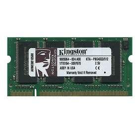 Kingston SO-DIMM DDR 333MHz Apple 512MB (KTA-PBG4333/512)