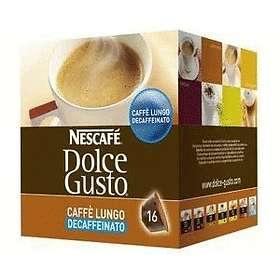 Nescafé Dolce Gusto Caffe Lungo Decaffeinato 16st (Kapsler)