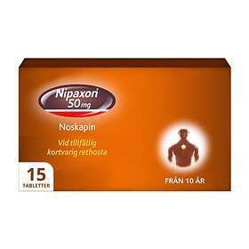 McNeil Nipaxon 50mg 15 Tabletter