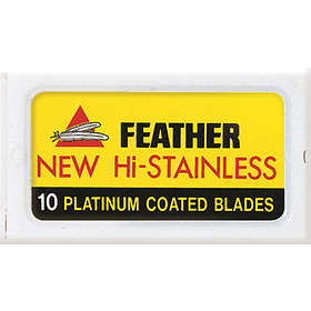 Feather Double Edge 10-pack
