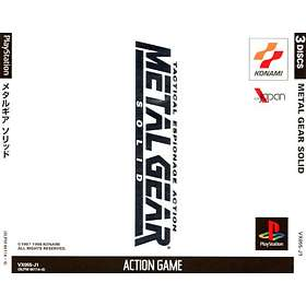 Metal Gear Solid (JPN) (PS1)