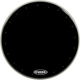 Evans Drumheads EQ1 Resonant Black Bass 20""