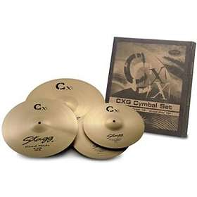 Stagg Brass CXG Set (13/16/18)