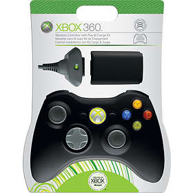 Microsoft Xbox 360 Wireless Controller + Play & Charge Kit (Original)