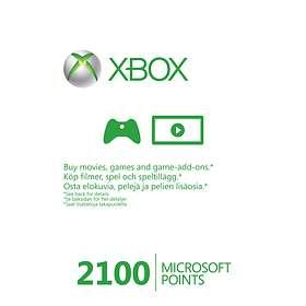 Microsoft Xbox Live Points 2100