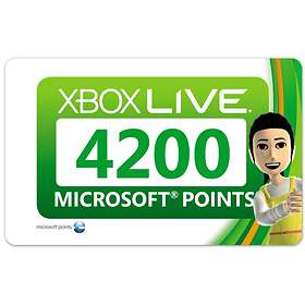 Microsoft Xbox Live Points 4200