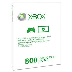 Microsoft Xbox Live Points 800