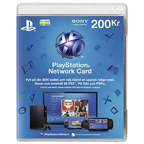 Sony PlayStation Network Card - 200 SEK