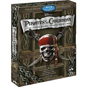 Pirates of the Caribbean 1-4