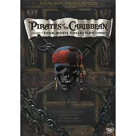 Pirates of the Caribbean 1-4 Box