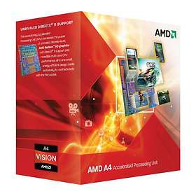 AMD A-Series A4-3400 2,7GHz Socket FM1 Box