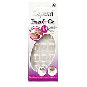 Depend Press & Go False Nails 24-pack
