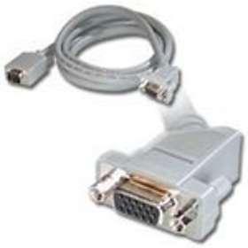 C2G Premium Shielded VGA - VGA (SXGA) (angled) 45° M-F 3m