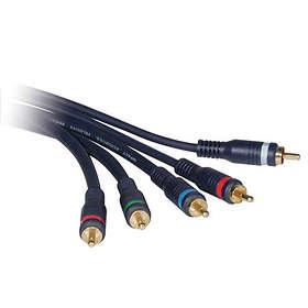 C2G Velocity Component + Audio 5RCA - 5RCA 3m