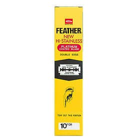 Feather Double Edge 200-pack