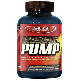 Self Omninutrition Muscle Pump 180 Tabletter