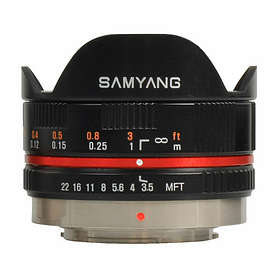 Samyang MF 7,5/3,5 UMC Fisheye for Olympus/Panasonic m4/3