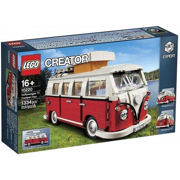 Bild på LEGO Creator 10220 Volkswagen T1 Camper Van från Prisjakt.nu