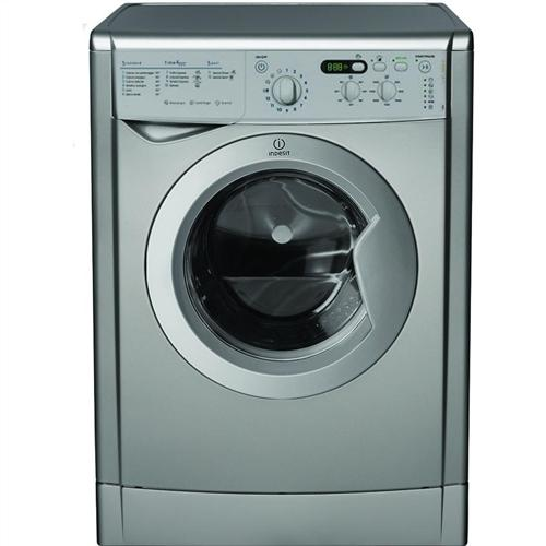best deals on indesit iwd 7145 s silver washing machine. Black Bedroom Furniture Sets. Home Design Ideas