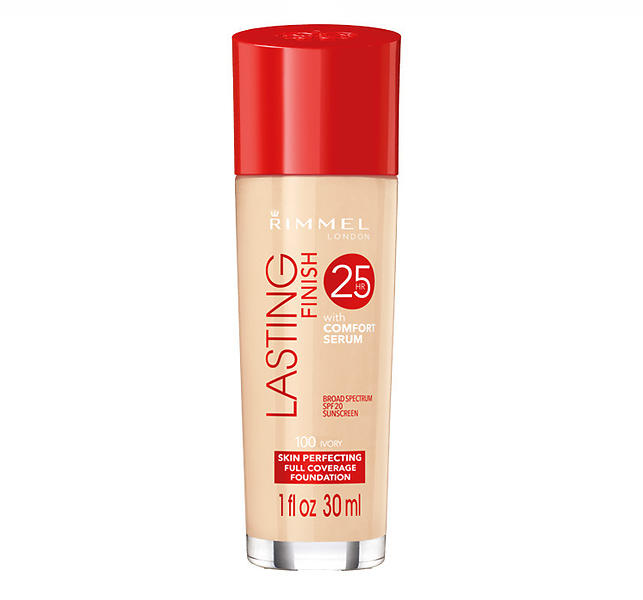 rimmel lasting finish 25h foundation 30ml au meilleur prix comparez les offres de fonds de. Black Bedroom Furniture Sets. Home Design Ideas