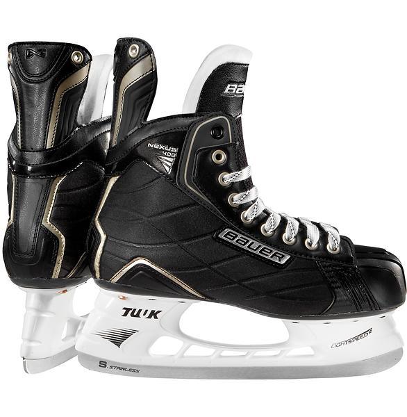bauer nexus 400 sr au meilleur prix comparez les offres de patins glace sur led nicheur. Black Bedroom Furniture Sets. Home Design Ideas