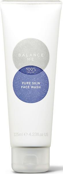 Balance facial wash