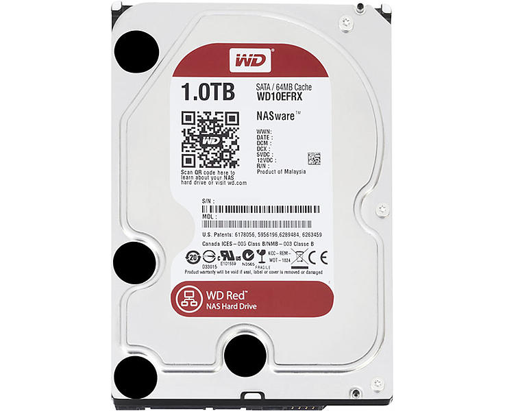WD Red WD10EFRX 64MB 1TB