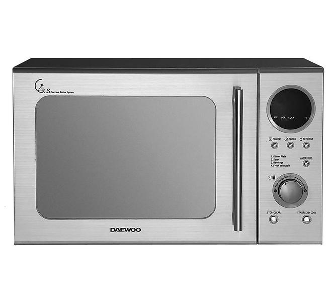 Best Deals On Daewoo Kor 3000dsl Stainless Steel Microwaves Compare Prices Pricespy